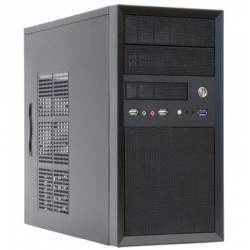 Корпус CHIEFTEC iArena CT - 01B, без БП, 1xUSB3.0, mATX, чорний