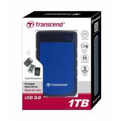 Зовнішній жорсткий диск Transcend StoreJet 2.5 USB 3.0 1TB серія H Blue