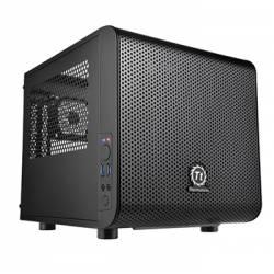 Корпус Thermaltake Core V1, без БП, 2xUSB3.0, чорний, mini - ITX