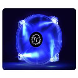 Корпусний вентилятор Thermaltake Pure 20 DC Fan, 200мм, 800об/мін, 3pin,28.2dBA, Blue LED