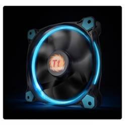 Корпусний вентилятор Thermaltake Riing 14,140мм, 1400об/мін, 3pin,28.1dBA, Blue LED