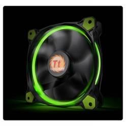Корпусний вентилятор Thermaltake Riing 14,140мм, 1400об/мін, 3pin,28.1dBA, Green LED