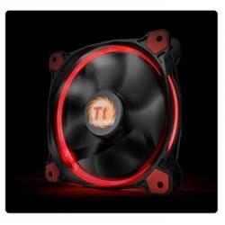 Корпусний вентилятор Thermaltake Riing 14,140мм, 1400об/мін, 3pin,28.1dBA, Red LED
