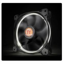 Корпусний вентилятор Thermaltake Riing 14,140мм, 1400об/мін, 3pin,28.1dBA, White LED