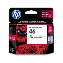 Картрідж HP No.46 Ultra Ink Advantage Tri - color