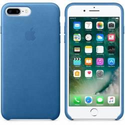 Чохол шкіряний для iPhone 7 Plus Sea Blue