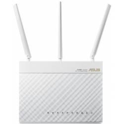Інтернет-шлюз ASUS RT-AC68U_W 802.11ac AC1900 Двохдіапазонний, Гигабит, USB 3.0, AiCloud, White