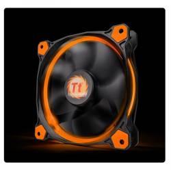 Корпусний вентилятор Thermaltake Riing 12,120мм, 1500об / хв, 3pin, 24.6dBA, Orange LED