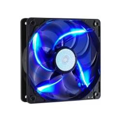 Корпусний вентилятор Cooler Master SickleFlow 120мм, 19dBA, 3pin, 2000об / хв, синє підсвічування