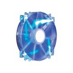 Корпусний вентилятор Cooler Master MegaFlow 200, Blue LED Silent Fan, 200мм, 3pin + Molex