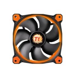 Корпусний вентилятор Thermaltake Riing 14,140мм, 1400 об / хв, 3pin, 28.1dBA, Orange LED