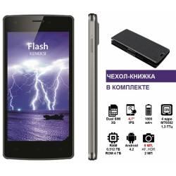 Смартфон KENEKSI Flash Dual Sim Black