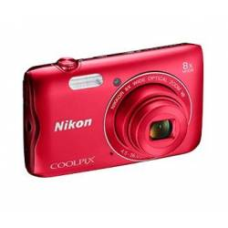 Цифр. фотокамера Nikon Coolpix A300 Red