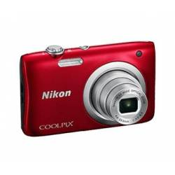 Цифр. фотокамера Nikon Coolpix A100 Red