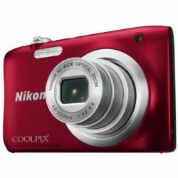 Цифр. фотокамера Nikon Coolpix A10 Red