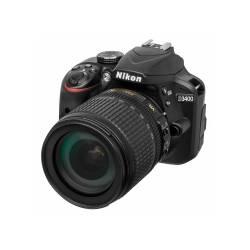 Цифр. фотокамера дзеркальна Nikon D3400 KIT AF-S DX 18-105 VR