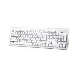 Клавіатура Genius SlimStar 130 White USB Rus