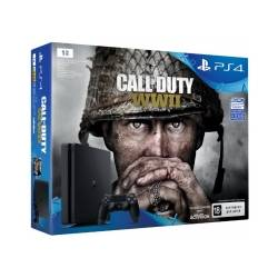Ігрова консоль SONY PlayStation 4 Slim 1Tb Black (Call of Duty WWII)